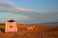 Παραλία Cavendish νησιών Eduard πριγκήπων Στοκ Εικόνα