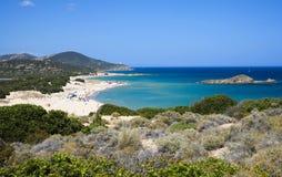 Παραλία Chia στοκ εικόνες με δικαίωμα ελεύθερης χρήσης