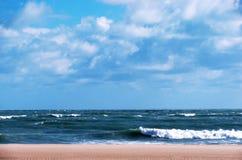 Παραλία Chipiona στο Καντίζ Στοκ Εικόνες