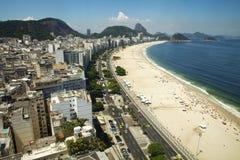 Παραλία Copacabana στοκ εικόνες με δικαίωμα ελεύθερης χρήσης