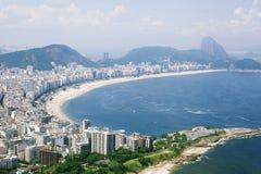 Παραλία Copacabana Στοκ Εικόνα