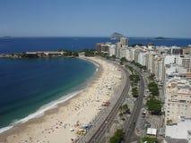 Παραλία Copacabana Στοκ Φωτογραφίες