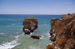 Παραλία DA Andorinha Ninho στο Αλγκάρβε, Πορτογαλία Στοκ εικόνες με δικαίωμα ελεύθερης χρήσης