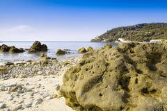 Παραλία DA Arrabida Portinho Στοκ Εικόνες