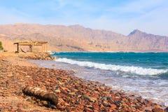 Παραλία Dahab Στοκ φωτογραφία με δικαίωμα ελεύθερης χρήσης