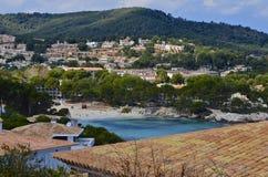 Παραλία de sa cala πηγών στοκ φωτογραφία