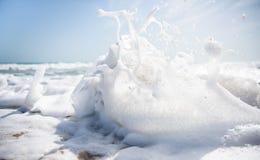 Παραλία Dhanushkodi Στοκ φωτογραφία με δικαίωμα ελεύθερης χρήσης