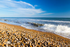 Παραλία Dorset Eype στοκ φωτογραφία