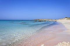 Παραλία Elafonisi της Κρήτης Στοκ εικόνα με δικαίωμα ελεύθερης χρήσης