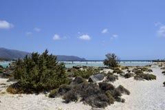 Παραλία Elafonissos στην Ελλάδα Στοκ εικόνες με δικαίωμα ελεύθερης χρήσης