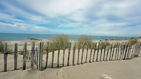 Παραλία Espiguette στο Camargue, Γαλλία Στοκ φωτογραφία με δικαίωμα ελεύθερης χρήσης