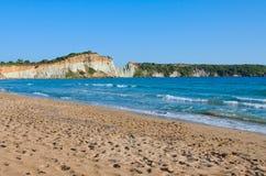 Παραλία Gerakas Στοκ Εικόνες