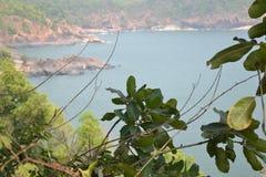 Παραλία Gokarna στοκ φωτογραφία