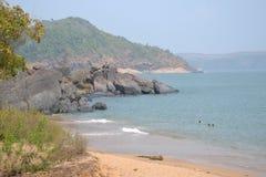 Παραλία Gokarna στοκ εικόνες με δικαίωμα ελεύθερης χρήσης