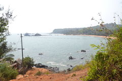 Παραλία Gokarna στοκ εικόνα