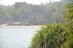 Παραλία Gokarna στοκ εικόνα με δικαίωμα ελεύθερης χρήσης