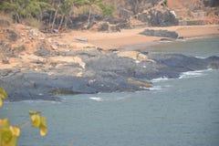 Παραλία Gokarna στοκ φωτογραφίες με δικαίωμα ελεύθερης χρήσης