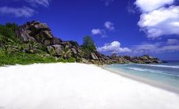 Παραλία Grande anse, Σεϋχέλλες 3 Στοκ Εικόνες
