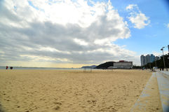 Παραλία Haeundae Στοκ εικόνα με δικαίωμα ελεύθερης χρήσης