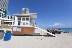Παραλία Hallandale, Φλώριδα στοκ φωτογραφία με δικαίωμα ελεύθερης χρήσης