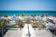 Παραλία Hollywood στοκ φωτογραφίες με δικαίωμα ελεύθερης χρήσης