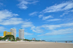 Παραλία Hua-Hin Στοκ Εικόνες