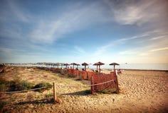 Παραλία Ibiza Στοκ εικόνες με δικαίωμα ελεύθερης χρήσης