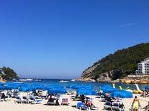 Παραλία Ibiza Στοκ Εικόνες