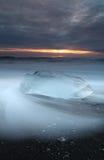 Παραλία Iceburg Στοκ εικόνες με δικαίωμα ελεύθερης χρήσης