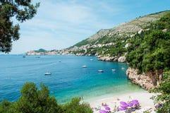 Παραλία Jakov Sveti, Dubrovnik Στοκ Εικόνες