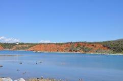 Παραλία Kageles σε Maronia, Ελλάδα στοκ φωτογραφίες