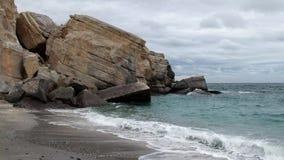 Παραλία Khasab στη χερσόνησο του Ομάν - Musandam απόθεμα βίντεο