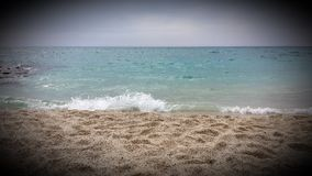 Παραλία Kleopatra σε Alanya Στοκ Εικόνες