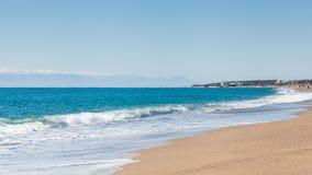 Παραλία Kleopatra Στοκ εικόνα με δικαίωμα ελεύθερης χρήσης