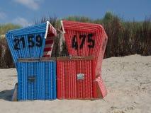 Παραλία Langeoog Στοκ εικόνες με δικαίωμα ελεύθερης χρήσης