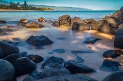 Παραλία Laniakea Στοκ εικόνα με δικαίωμα ελεύθερης χρήσης