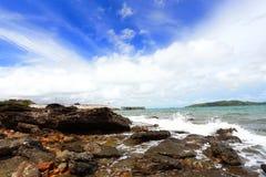 Παραλία Leam Ya Khao Στοκ Φωτογραφία