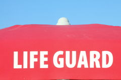 Παραλία Lifeguard Στοκ Εικόνες