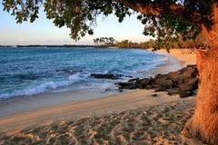 Παραλία Mahaiula στοκ εικόνες