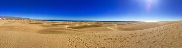 Παραλία Maspalomas στοκ φωτογραφίες με δικαίωμα ελεύθερης χρήσης