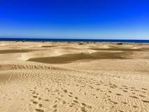 Παραλία Maspalomas στοκ εικόνες με δικαίωμα ελεύθερης χρήσης