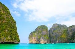 παραλία maya Ταϊλάνδη κόλπων Στοκ Εικόνες