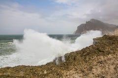 Παραλία Mughsayl Στοκ φωτογραφία με δικαίωμα ελεύθερης χρήσης