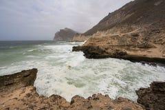 Παραλία Mughsayl Στοκ Φωτογραφία