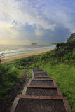 Παραλία Mystics κρατικών πάρκων Killalea Στοκ εικόνα με δικαίωμα ελεύθερης χρήσης