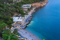Παραλία Nafplio στοκ εικόνα