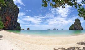 Παραλία Nang Phra, Ταϊλάνδη Στοκ Φωτογραφία