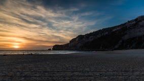 Παραλία Nazaré - Πορτογαλία Στοκ φωτογραφία με δικαίωμα ελεύθερης χρήσης
