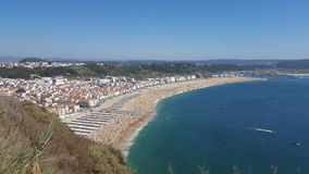 Παραλία 2016 Nazaré στοκ εικόνες