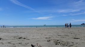 Παραλία Nelson της Νέας Ζηλανδίας Στοκ εικόνες με δικαίωμα ελεύθερης χρήσης